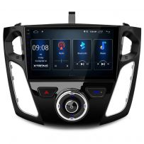 PST90FSF 9'' Android 10 IPS Screen Navigation Multimedia Player Built-in DSP For Ford Focus 2012-2017