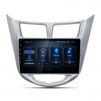 PST90RNH 9'' Android 10 IPS Screen Navigation Multimedia Player Built-in DSP Custom Fit for HYUNDAI Vehicles
