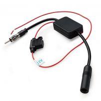 RAMP01 12V Universal Car FM/AM Radio Signal Amplifier reception booster