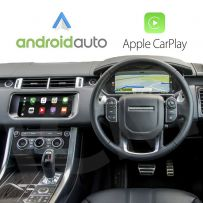 Wireless Apple CarPlay And Android Auto Interface For Land Rover Range Rover Sport 2017-2018
