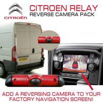 Citroen Relay 2014 Van Brake Light Parking Cam + Reverse Camera Input Interface