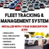 Vehicle Car Van Bike Live GPS Tracker Fleet Tracking System Including 1 Yr Subscription