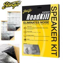 Stinger Expert Sound Proofing Deadening Material 2 Sheet Speaker Kit - 10