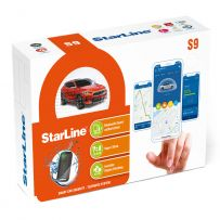 StarLine Car Van Alarms Security with Motion shock tilt sensor option Tracking & Phone Alerts