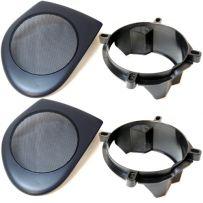 SAK-3206 130mm Front Door Car Speaker Adaptor Plate for Volvo S40 V40