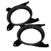SAK-3209 130mm Parcel Shelf Car Speaker Adaptor Plate for Volvo S60 V70