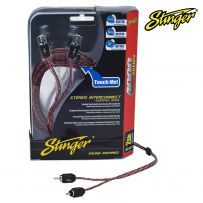 STINGER SI4212 2 Channel 12ft 4000 Series Stereo Interconnect RCA Cable Lead