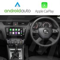 Wireless Apple CarPlay Android Auto Interface for Skoda Vehicles 2013 Onwards