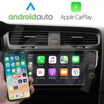 Wireless Apple CarPlay Android Auto Interface for Seat/Skoda MIB 1/MIB 2 Octavia, Rapid, Superb