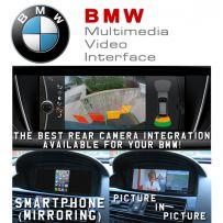BMW 1 2 F Series F01 F10 X5 X6 HDMI Multimedia Video Interface + Phone Mirroring