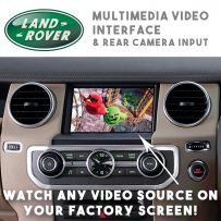 Range Rover Sport Discovery 4  Rear Camera & Multimedia Video Interface