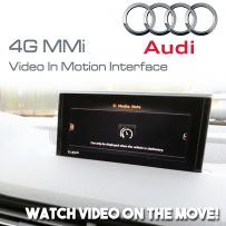 Audi A3 A4 S4 TT Q7 A6 A7 Golf Mk7 4G MMi Video In Motion On the Move Interface