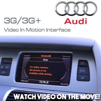 Audi A1 A4 A5 Q5 A7 A8 A6 Touareg Video In Motion TV On the Move Interface