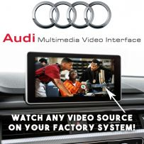 Audi A4 A5 Q5 2016 Multimedia Car Video Interface with Front & Rear Camera Input