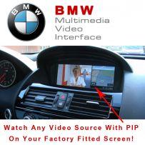BMW 1 3 5 6 7 Series X5 X6 Z4 iDrive CIC Car Multimedia Video Interface With PIP