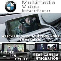 BMW 1 3 Series X5 X6 Multimedia Video Interface PIP with Advanced Parking System