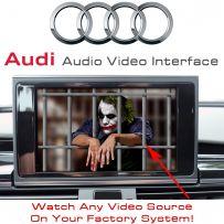 Audi A1 A6 A7 A8 Q3 Q7 2009-14 3G 3G+ MMI Multimedia Car Video Interface