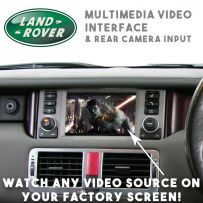 Range Rover Sport Discovery Vogue 05-11 Multimedia Video Interface Camera Input