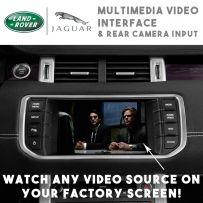Range Rover Evoque Sport Jaguar XF Multimedia Video Interface + Car Camera Input