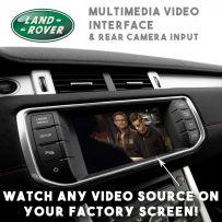 Range Rover Sports Evoque Jaguar XF XJL Multimedia Video & Camera Interface