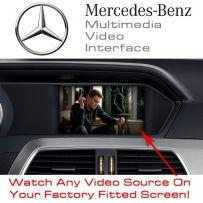 Mercedes NTG4.5 Comand Screen Multimedia Car Video & Parking Camera Interface