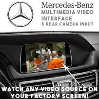 Mercedes 2011-14 NTG 4.5 Multimedia Car Video Interface + Rear Camera Input