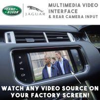 Range Rover Sports Evoque Jaguar XF XE Multimedia Video & Rear Camera Interface