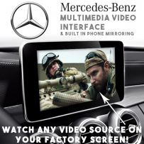 Mercedes NTG5 Multimedia Car Video & Camera Interface With HDMI Phone Mirroring