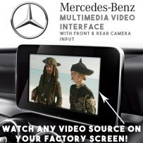 Mercedes NTG5/5.1 Multimedia Car Video Interface with Front & Rear Camera Input