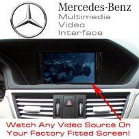 Mercedes B C E Class CLS GLK ML SLK SL Multimedia Car Video & Camera Interface
