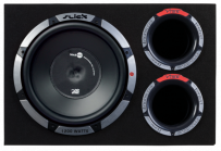Vibe SLICKCBR12A-V0  12 inch Active Subwoofer with Built In Amplifier Vented System Active Bass Enclosure 1200Watt
