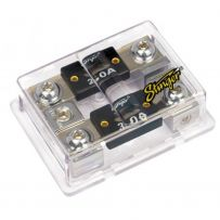 Stinger SPD5210 2-Way ANL Fused Distribution Block with One 1/0G Input and Two 4G Outputs