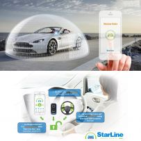 Starline i96 Can-Bus Immobiliser Theft Prevention for Mercedes, BMW, Audi, VW, Ford, etc