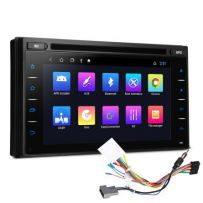 TCD601 6.2 inch Android 10 Navigation System Double Din Car DVD Player Custom Fit for Nissan