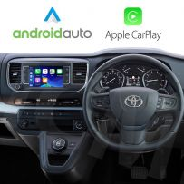 Wireless Apple CarPlay Android Auto for Toyota ProAce 2017 Onwards with Connect Nav 7