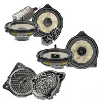 Mercedes Benz Vehicles Focal Front & Back Speakers Kit with Subwoofers Car Audio Upgrade