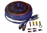 AL-SSK10 10 Gauge Amplifier Wiring Kit Fuse Holder RCA Amplifier Cable