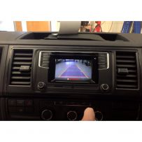 Front & Reverse Camera Integration Kit for Volkswagen with 5