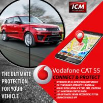 Vodafone AS5 Cat S5 Protect And Connect Vehicle Tracking System (Including Installation And 1 Year Subscription)