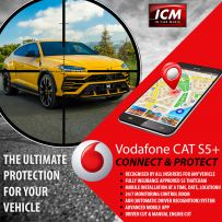 Vodafone AS5 Cat S5+ Protect And Connect Vehicle Tracking System with Driver Card & Manual Engine Cut (Including Installation And 1 Year Subscription)