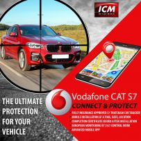 Vodafone AS7 Cat S7 Protect and Connect Vehicle Tracking System (including installation and 1 year subscription)