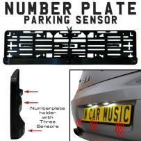 Number Plate Holder Mount Reverse Parking Sensor Sensors & Buzzer