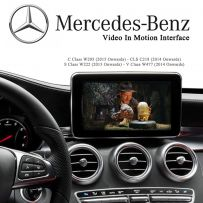 Mercedes C S V Class CLS Video Media In Motion Activation Interface Command NTG5