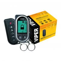 Viper 5304V Car Alarm with Remote Start System with One 5-button 2-Way Keyless Entry Remote & One 2-Way LCD Remote