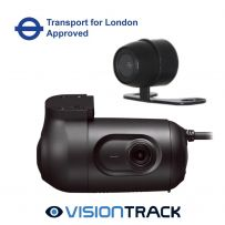 Visiontrack VT2.2 3G Dual Dashcam  Fleet Kit Tfl Approved Built-in Gps and VT9881 camera
