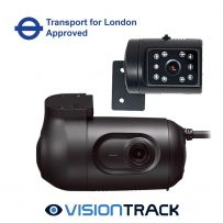 Visiontrack VT2.2 3G Dual Dashcam  Fleet Kit Tfl Approved Built-in Gps and VT-950-IR Interior Camera