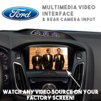 Ford Focus RS Mondeo S-Max Ranger Multimedia Video & Parking Camera Interface