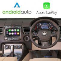Wireless Apple CarPlay Android Auto Interface for Volkswagen Touareg MK2 2010-2018