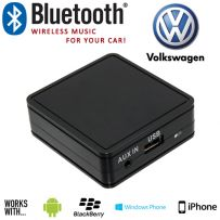 Volkswagen VW Bluetooth Car Music And Aux In Interface Adaptor For Mobile Phones