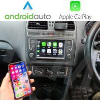Wireless Apple CarPlay Android Auto Interface for VW MIB 1/MIB 2 Golf MK7 Passat Polo